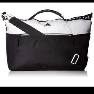 Adidas studio lll black/white duffel bag